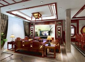 家居装潢设计之中式效果图演绎古韵风