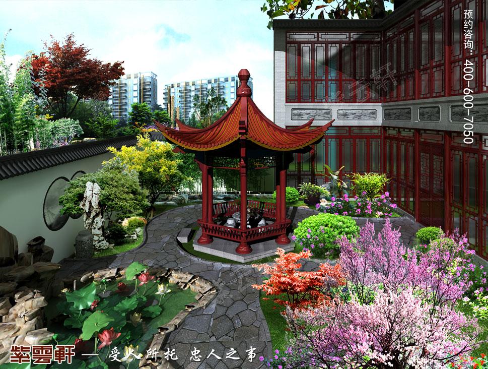 庭院中式装修