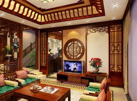 浙江义乌别墅简约古典中式装修图片 高端雕琢之美,韵律和谐之意