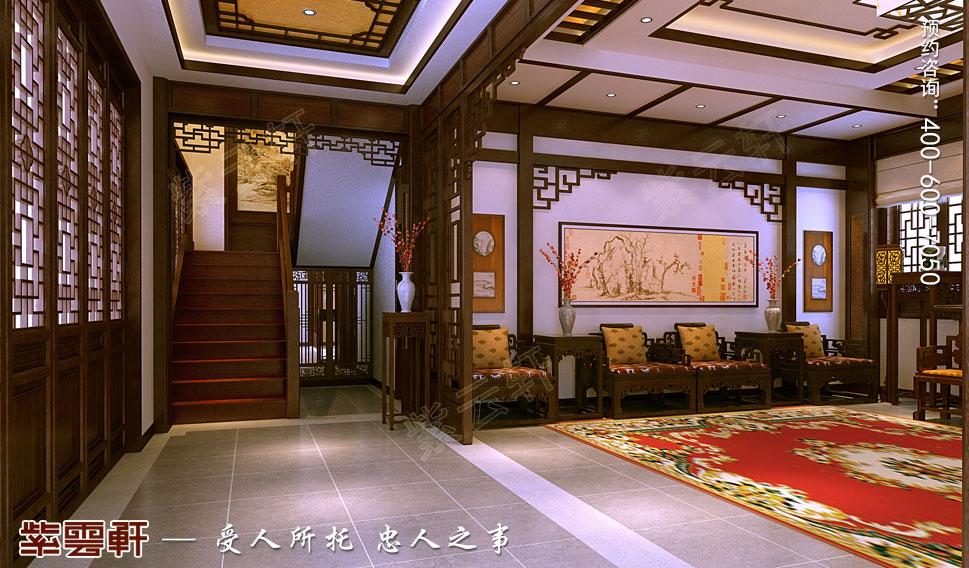 别墅中式装修楼梯间.jpg