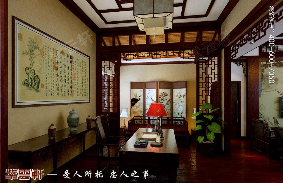别墅中式装修书房.jpg