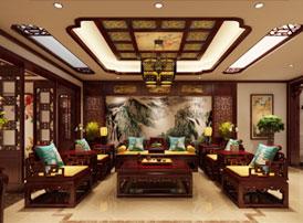 江苏昆山天伦随园古典中式装修风格 繁而不乱,豪而不土