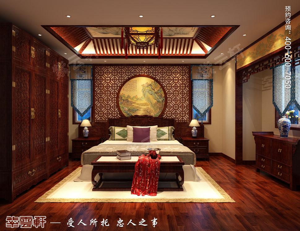复古中式别墅<a href=http://www.bjzyxuan.com/laorenfang/ target=_blank class=infotextkey>老人房装修效果图</a>
