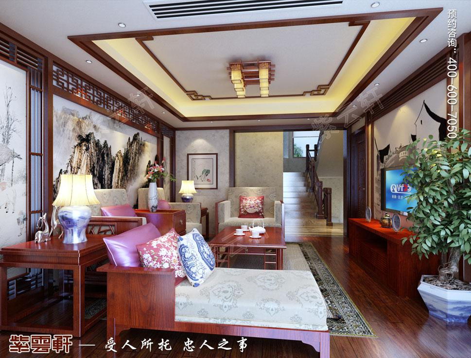 别墅中式装修起居室.jpg