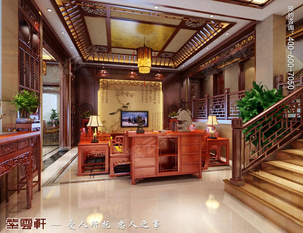 浙江东阳别墅简约中式装修效果图 简练优雅,别有风情