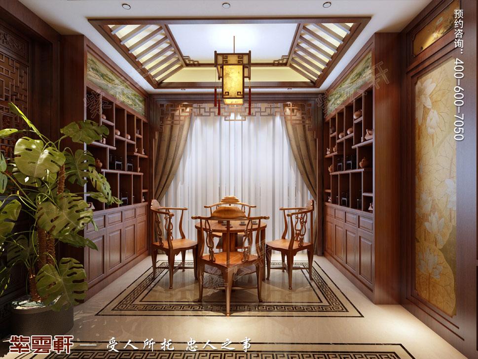 休息室纯古典中式别墅装修效果图