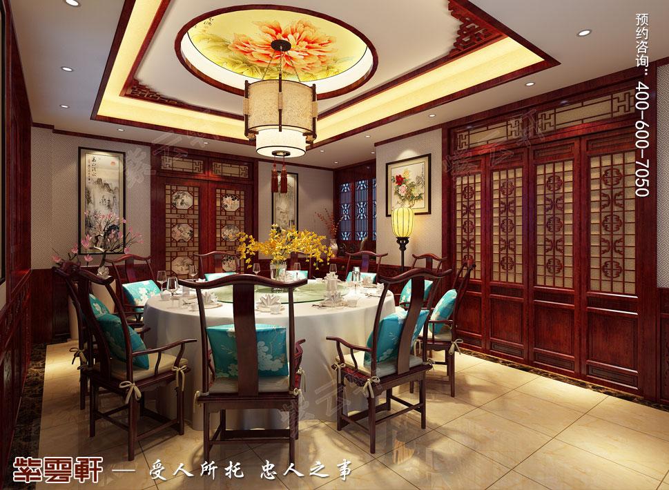 别墅餐厅传统风格装修图片