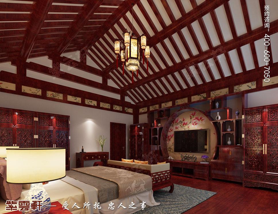 别墅中式装修卧室.jpg