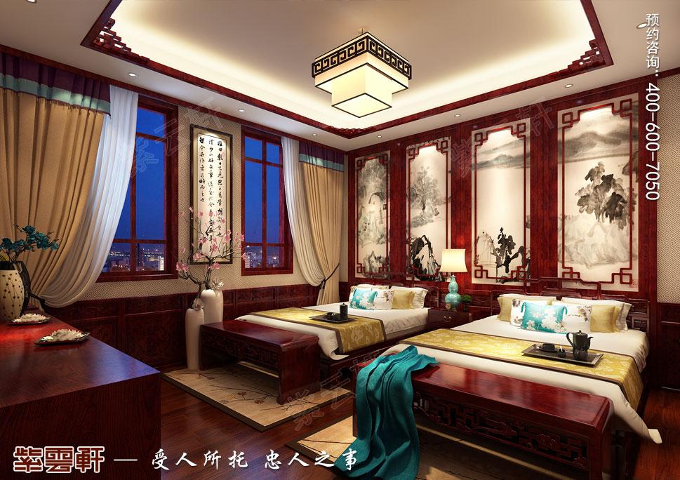 别墅老人房传统风格装修图片