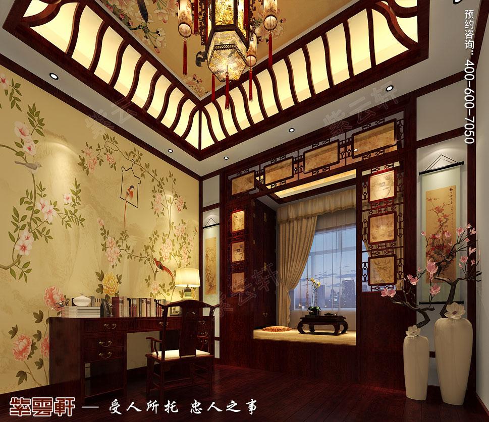 别墅中式装修次卧.jpg