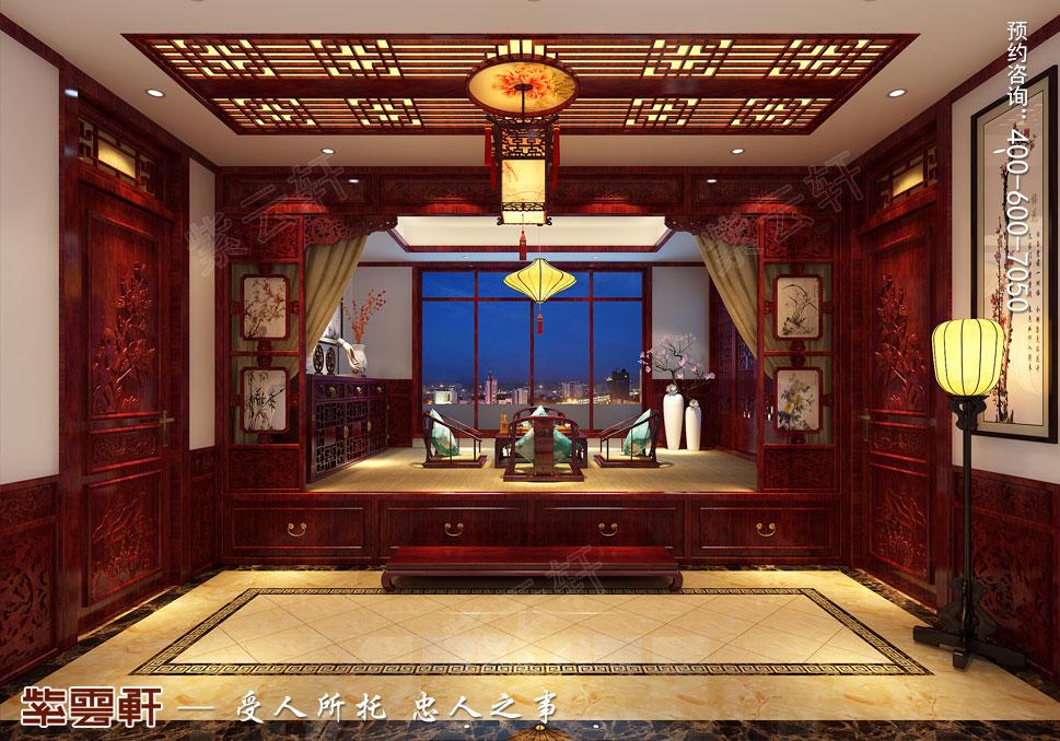 别墅雅阁传统风格装修图片