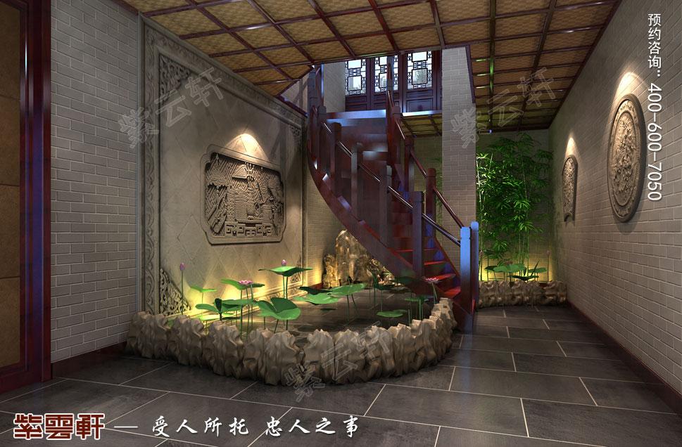 别墅观景区古典中式装修风格