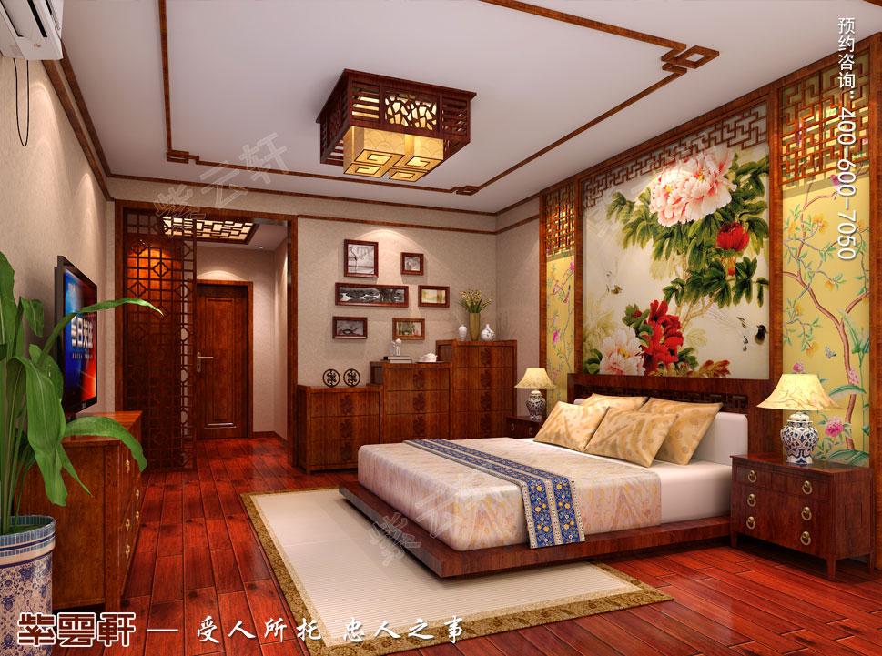 别墅中式装修老人卧室.jpg