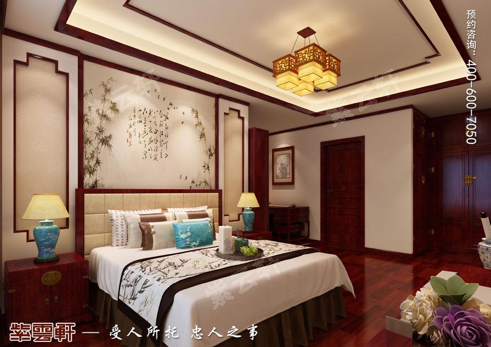 别墅男孩房现代中式风格装修效果图