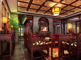 北京湾别墅古典中式装修风格 秀樾横塘十里香,水花晚色静年芳
