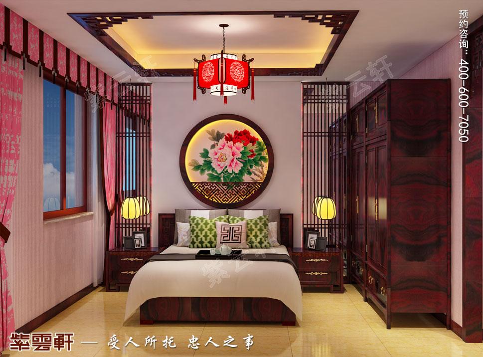 中式别墅装修女孩房效果图