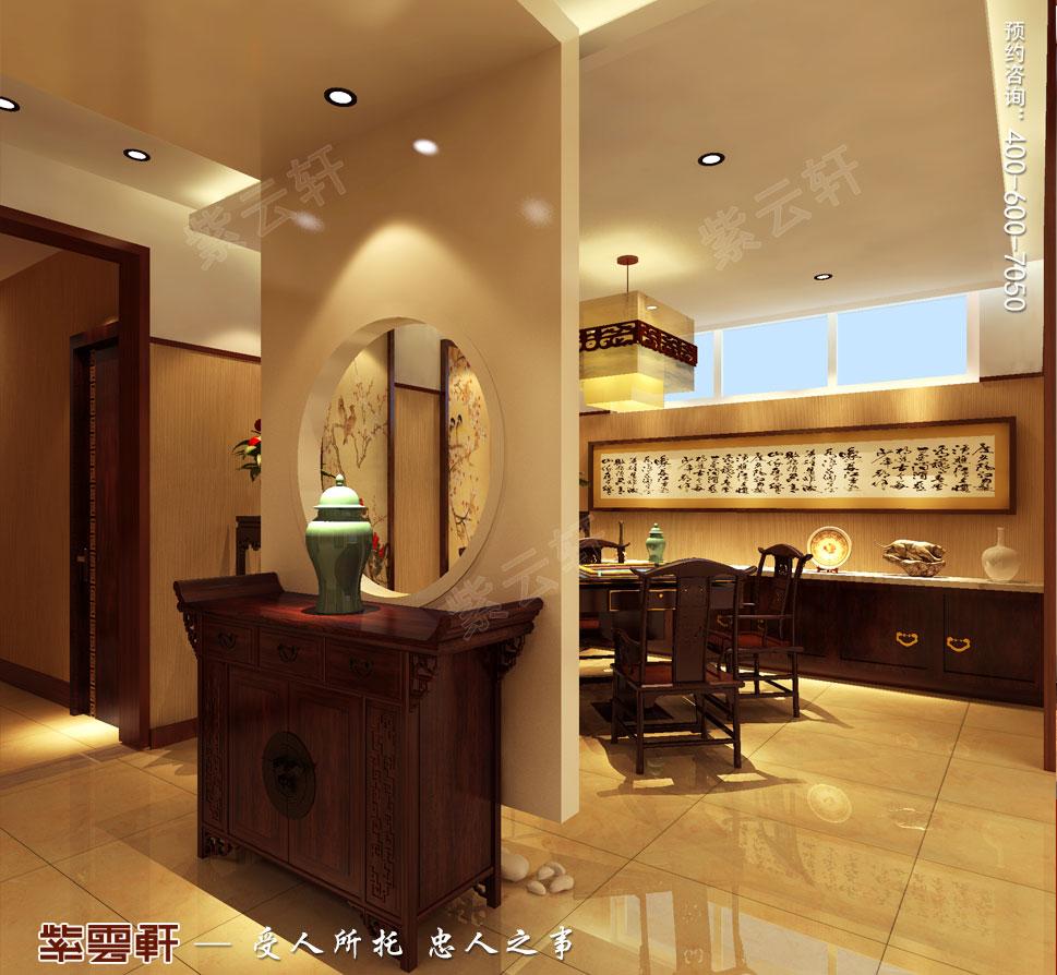 别墅麻将房现代豪华中式装修图