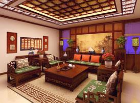 江苏盐城简约古典别墅中式装修设计 返璞归真的淳朴风趣