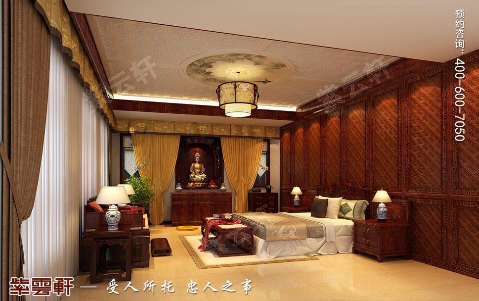 简约古典别墅卧室中式装修