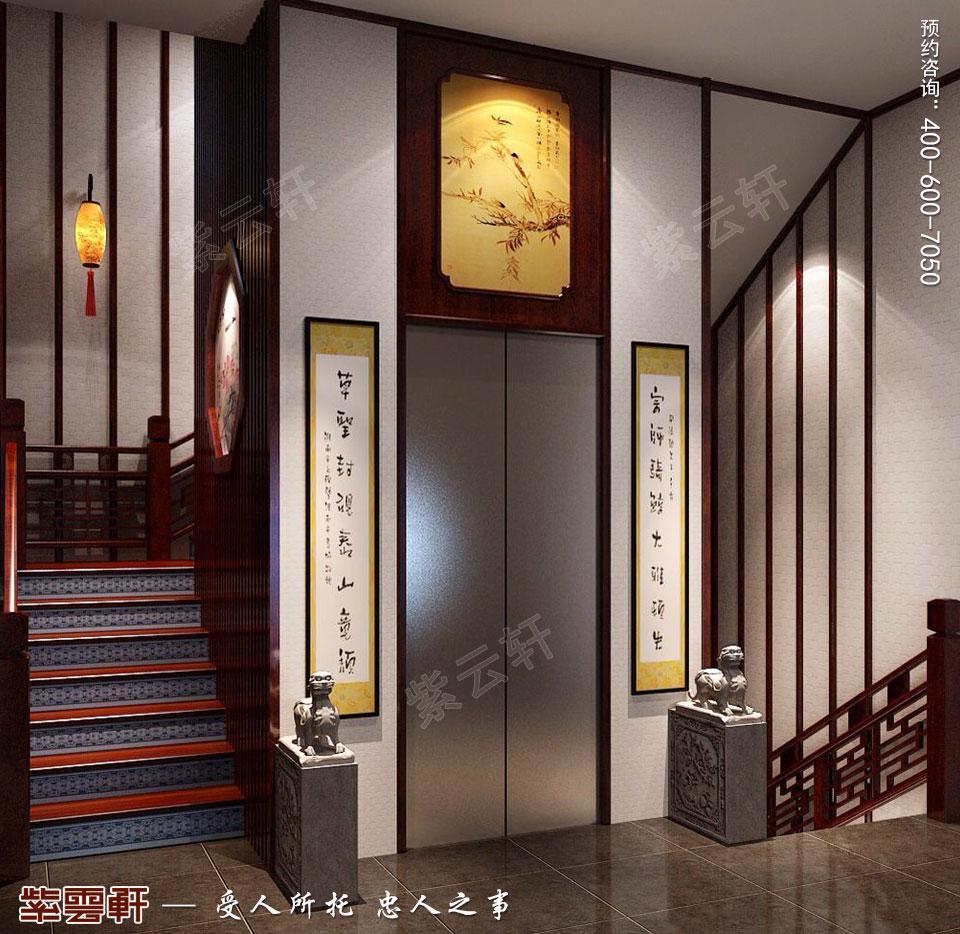 简约<a href=http://www.bjzyxuan.com/gudianzhongshi/ target=_blank class=infotextkey>古典中式风格</a>别墅装修玄关图片