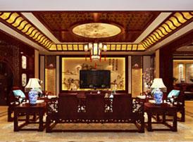 天津蓟县别墅古典中式装修效果图 细品袅袅茶香,身心诗意栖息