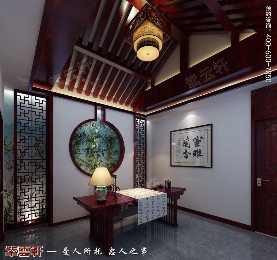 四合院别墅古典中式装修图片 花弄影,月流辉,十里楼台