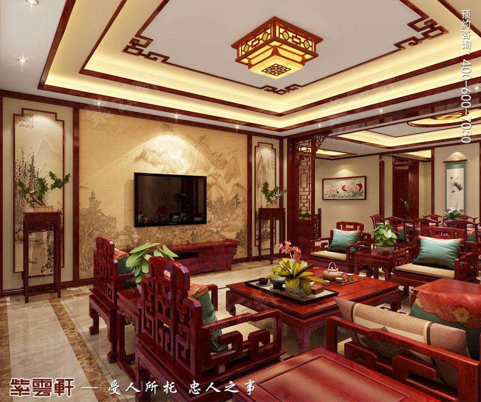 中式装饰之家装客厅