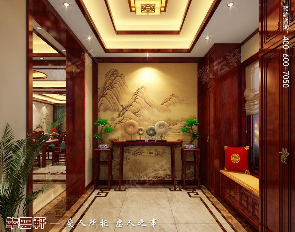 中式装饰之家装玄关