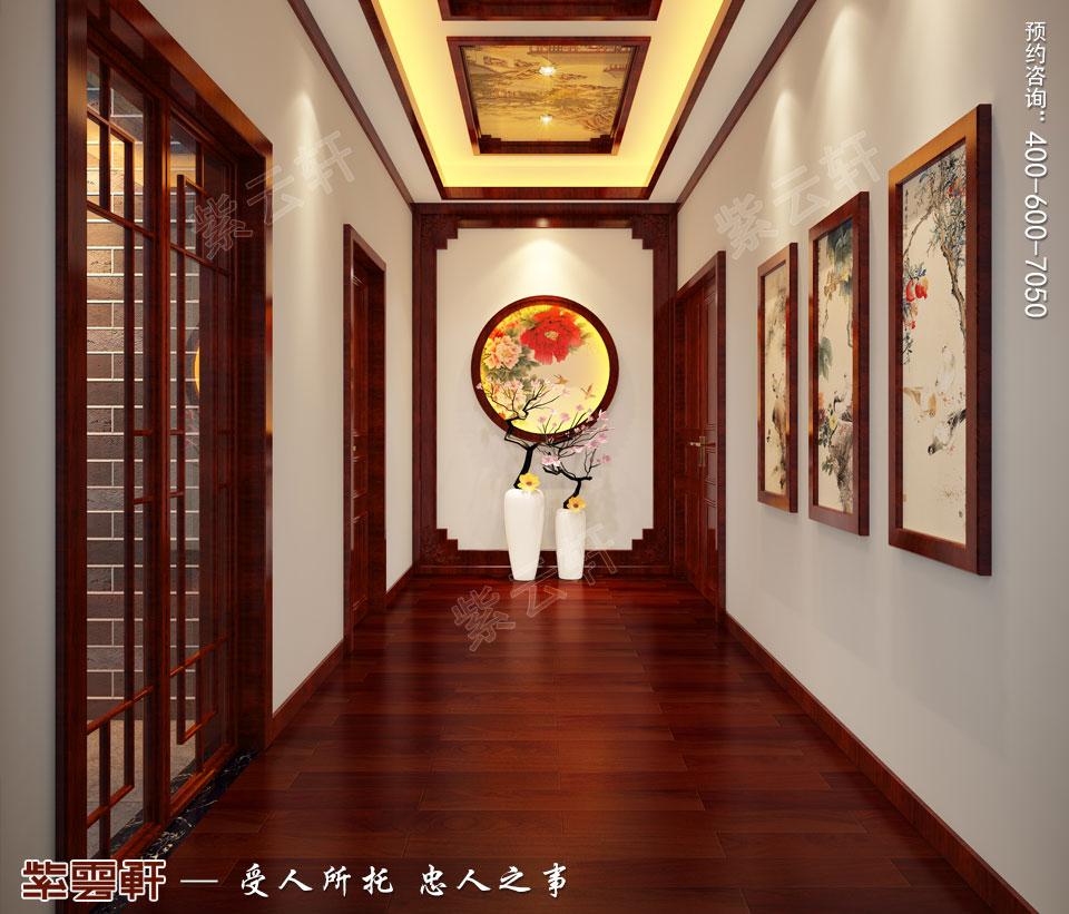 走廊现代中式装修.jpg
