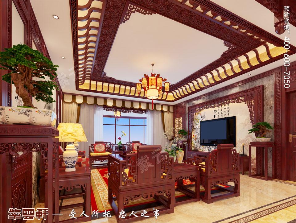 中式家居设计兼具古典装修的古韵,又有现代装修的舒适