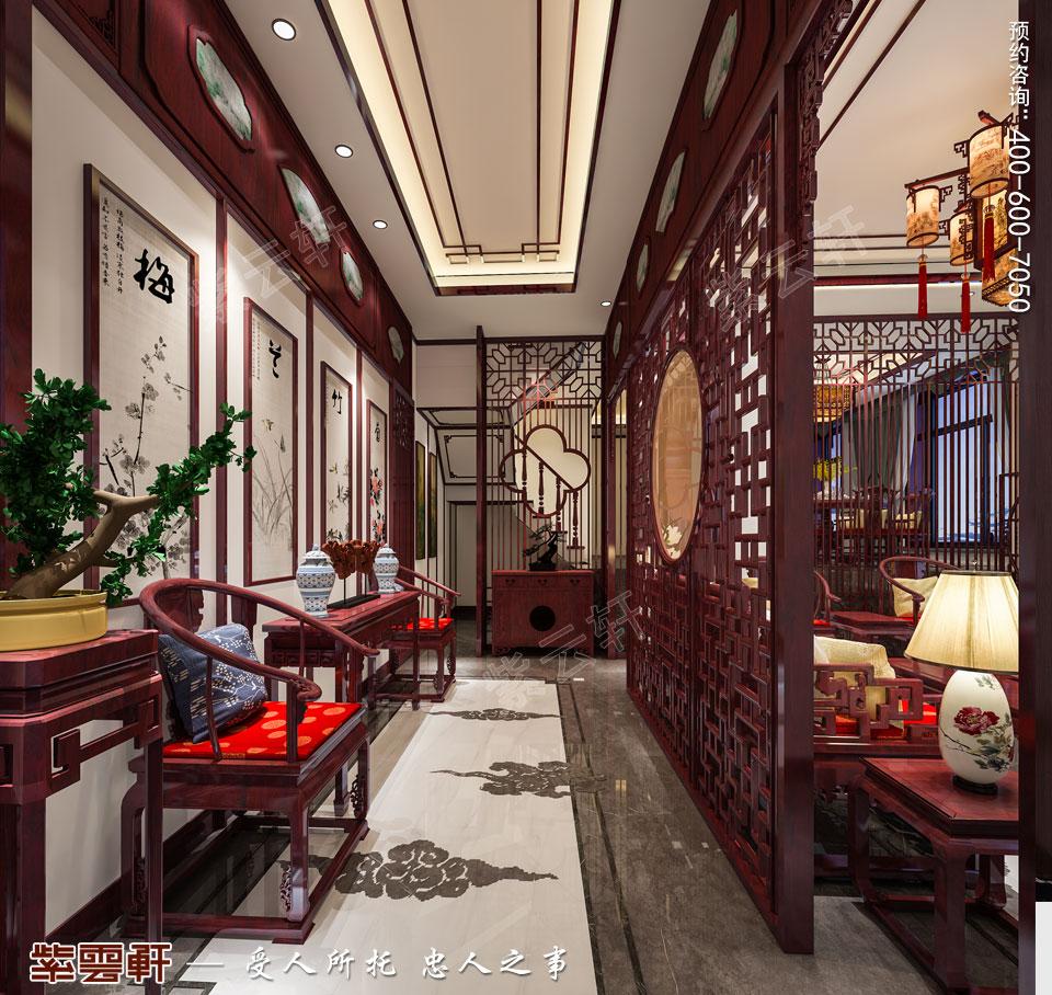 现代中式风格玄关图片.jpg