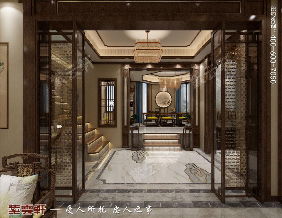 新中式风格过厅效果图.jpg
