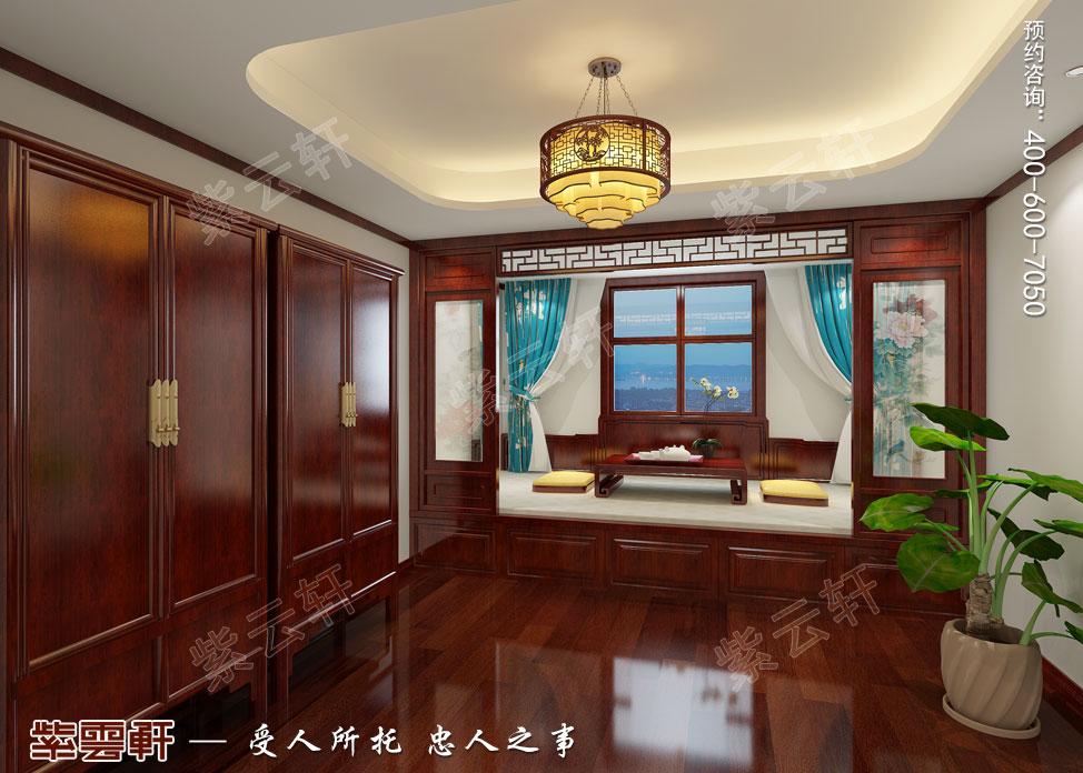 别墅老人房现代中式装修效果图.jpg