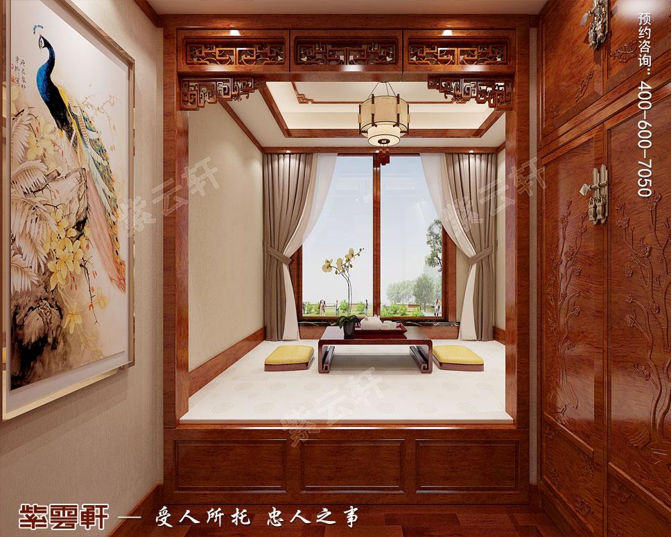 现代中式暖阁装修图片