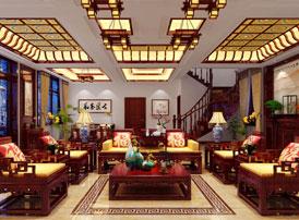 黑龙江绥化别墅现代中式设计效果图赏析 现代中式的得意之作