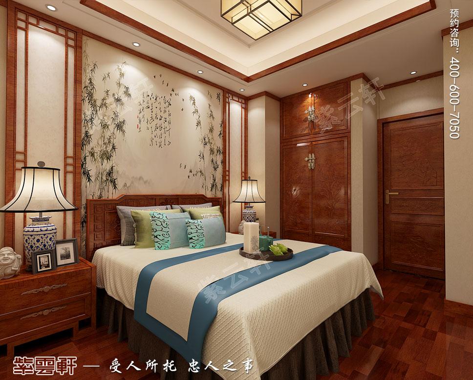 现代中式小孩房装修图片