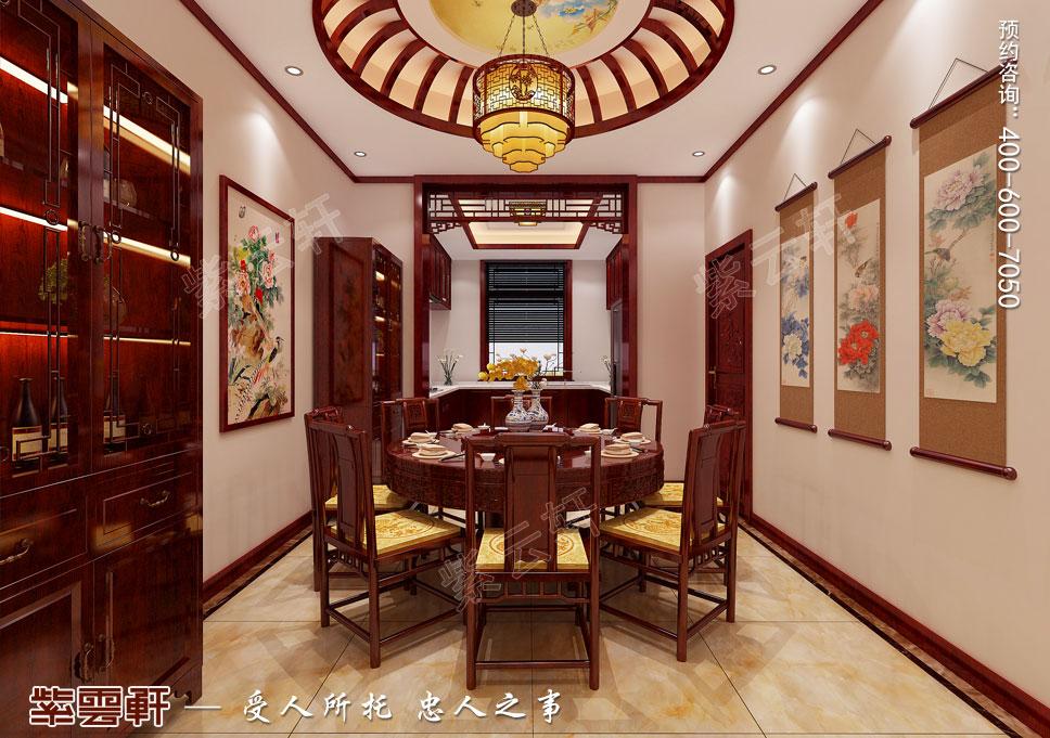 现代中式餐厅厨房装修图片