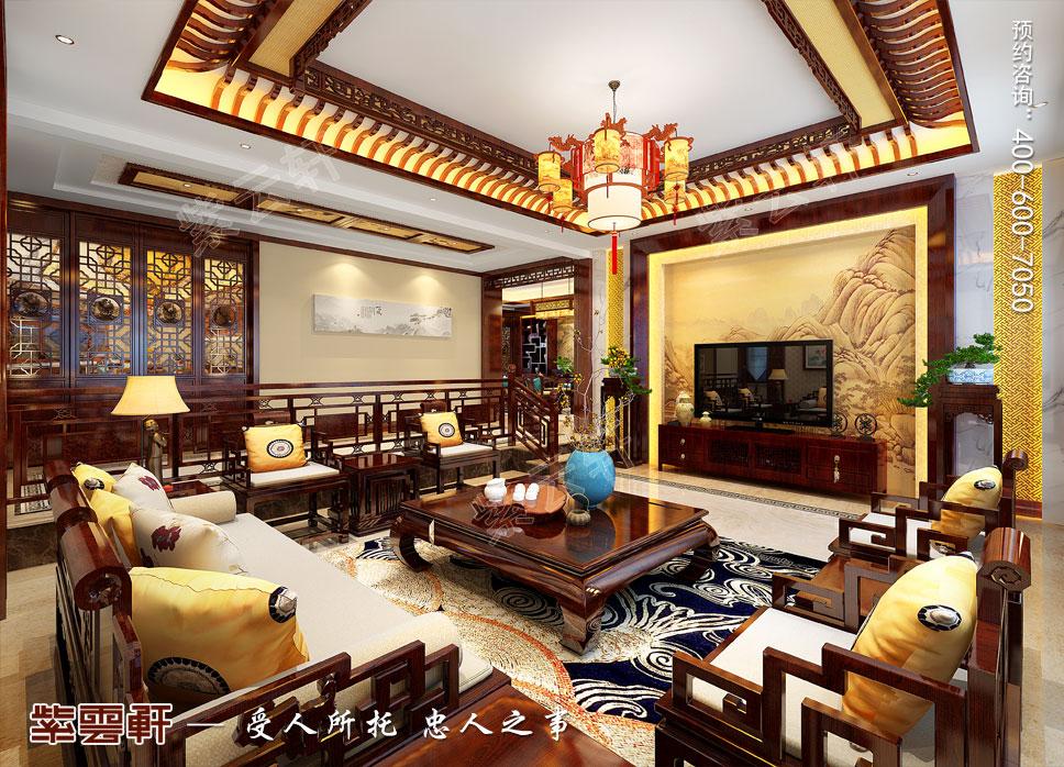 客厅简约古典中式设计
