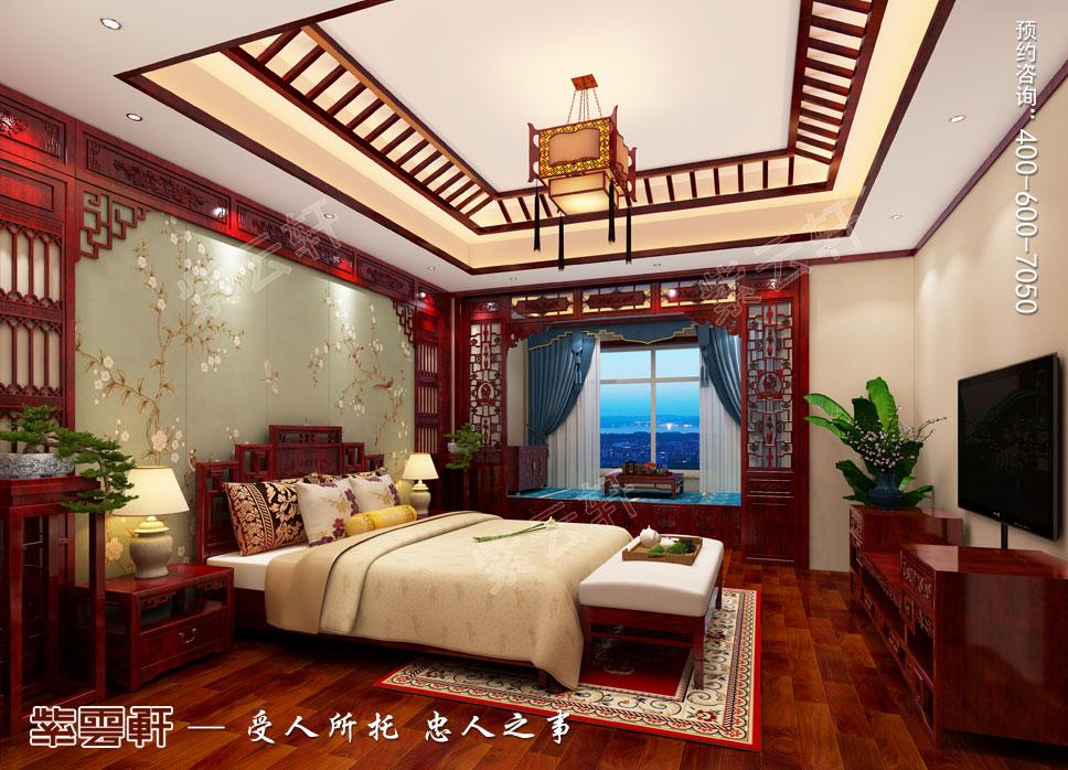 老人房简约古典中式设计