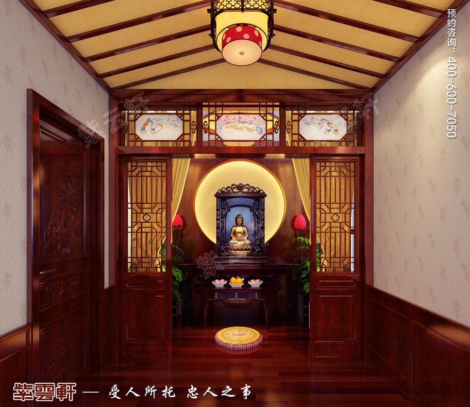 佛堂简约古典中式风格