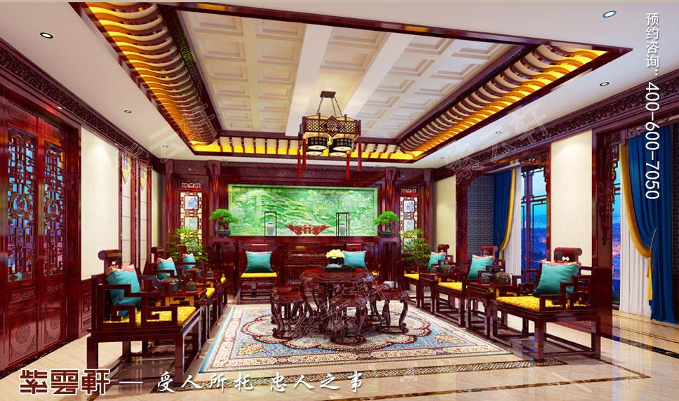 中堂简约古典中式风格