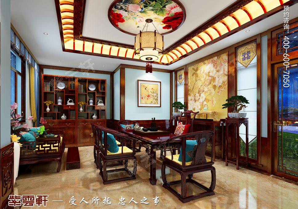 茶室简约古典中式风格
