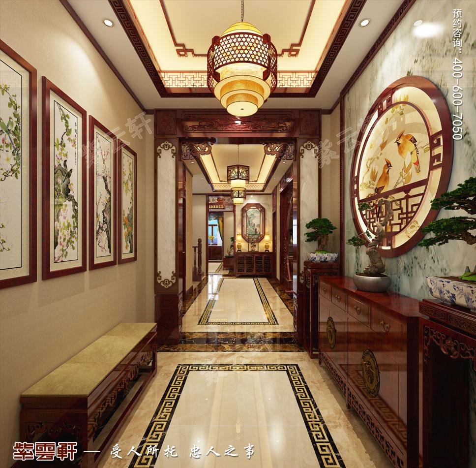 玄关古典中式设计