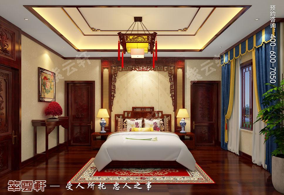 卧室古典中式设计