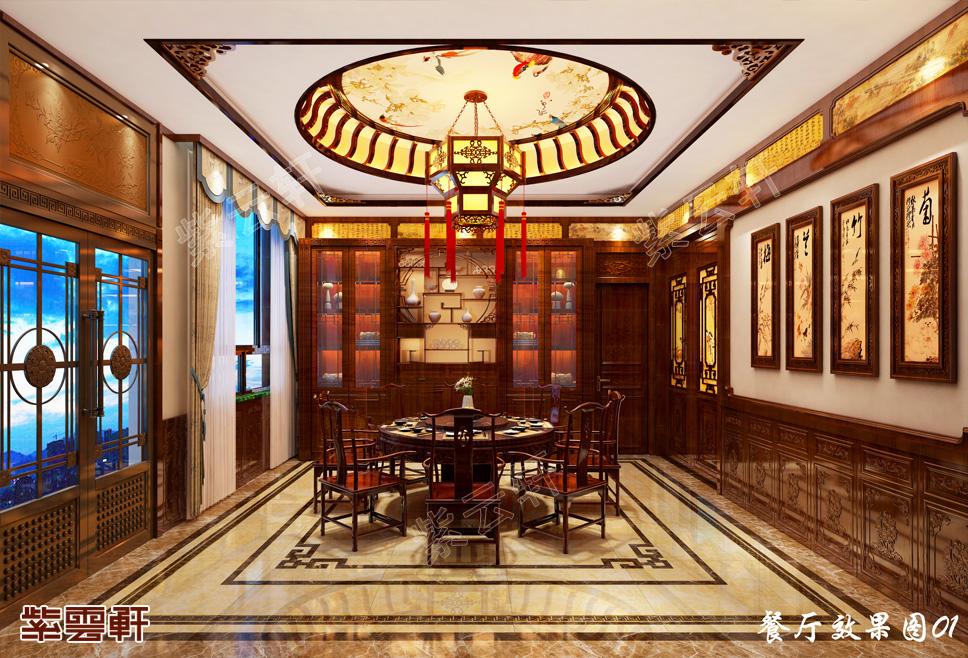 甘肃张掖市别墅中式装修 清雅风情如篱下花影