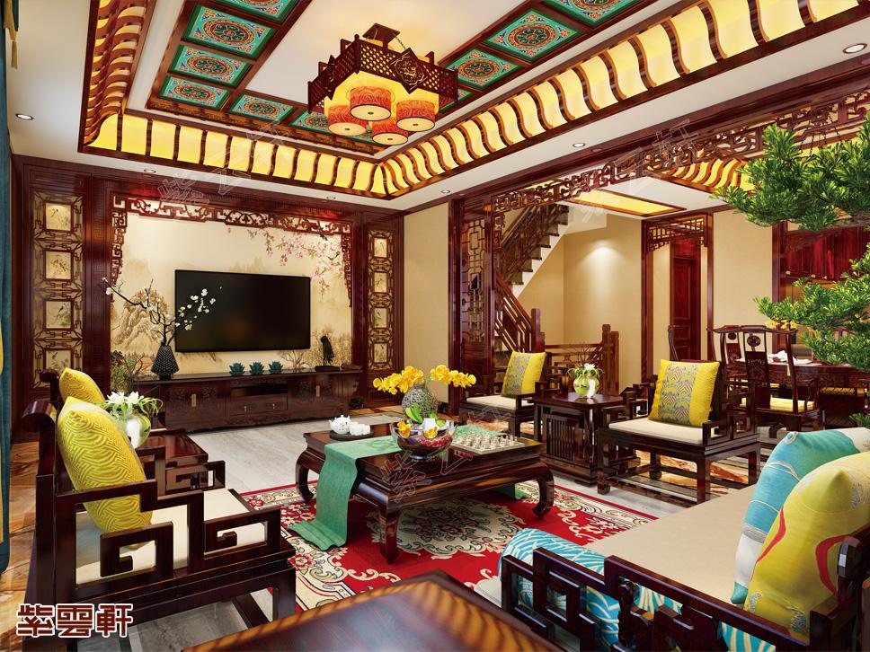 江苏常州市别墅中式装修 诗意温婉的水乡韵味