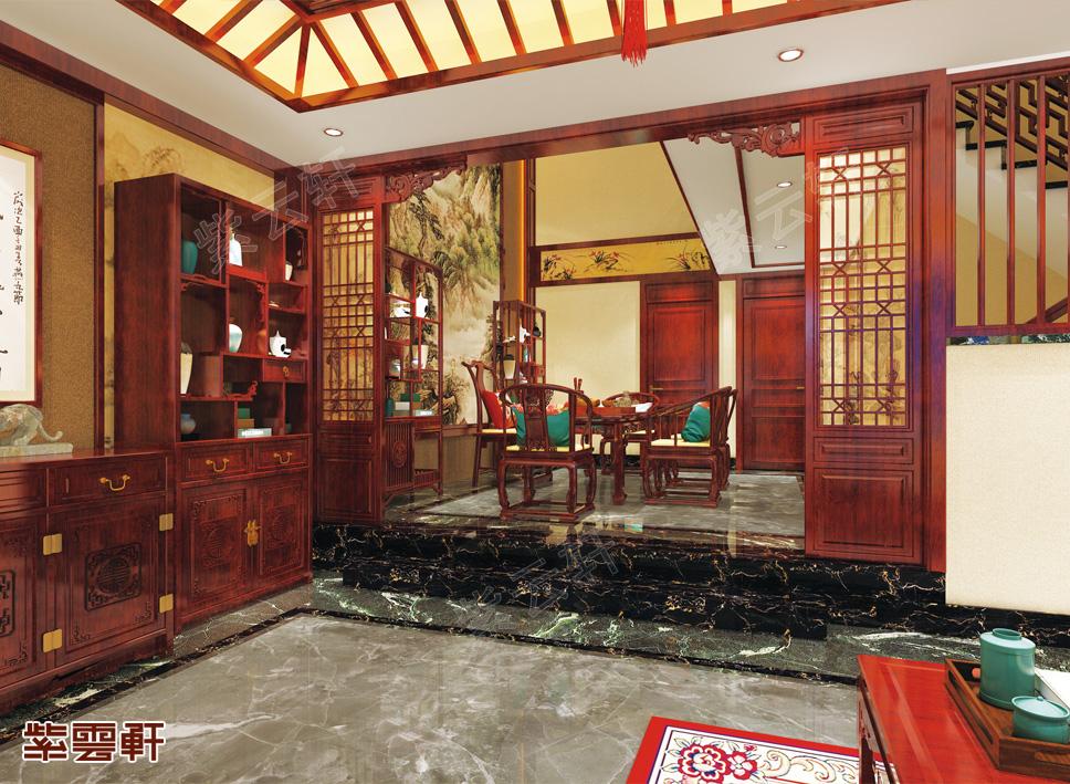 江苏徐州市别墅中式装修 千姿百态的美