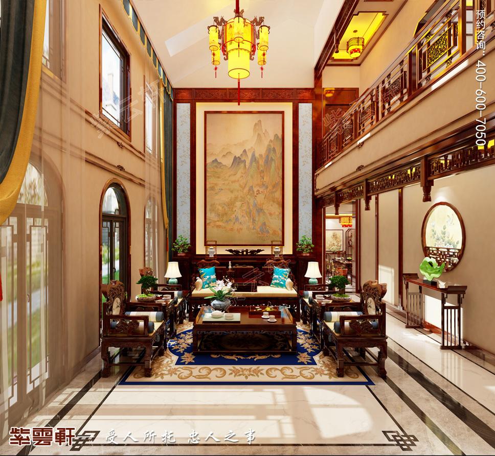 山东寿光市别墅中式装修 陪伴你安静优雅