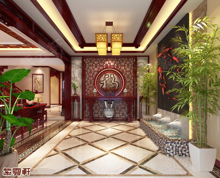 听说你想装中式风,那这套现代中式别墅装修你一定喜欢!