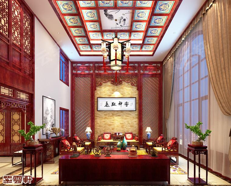 中式装修别墅案例分享,带你来看豪华中式装修